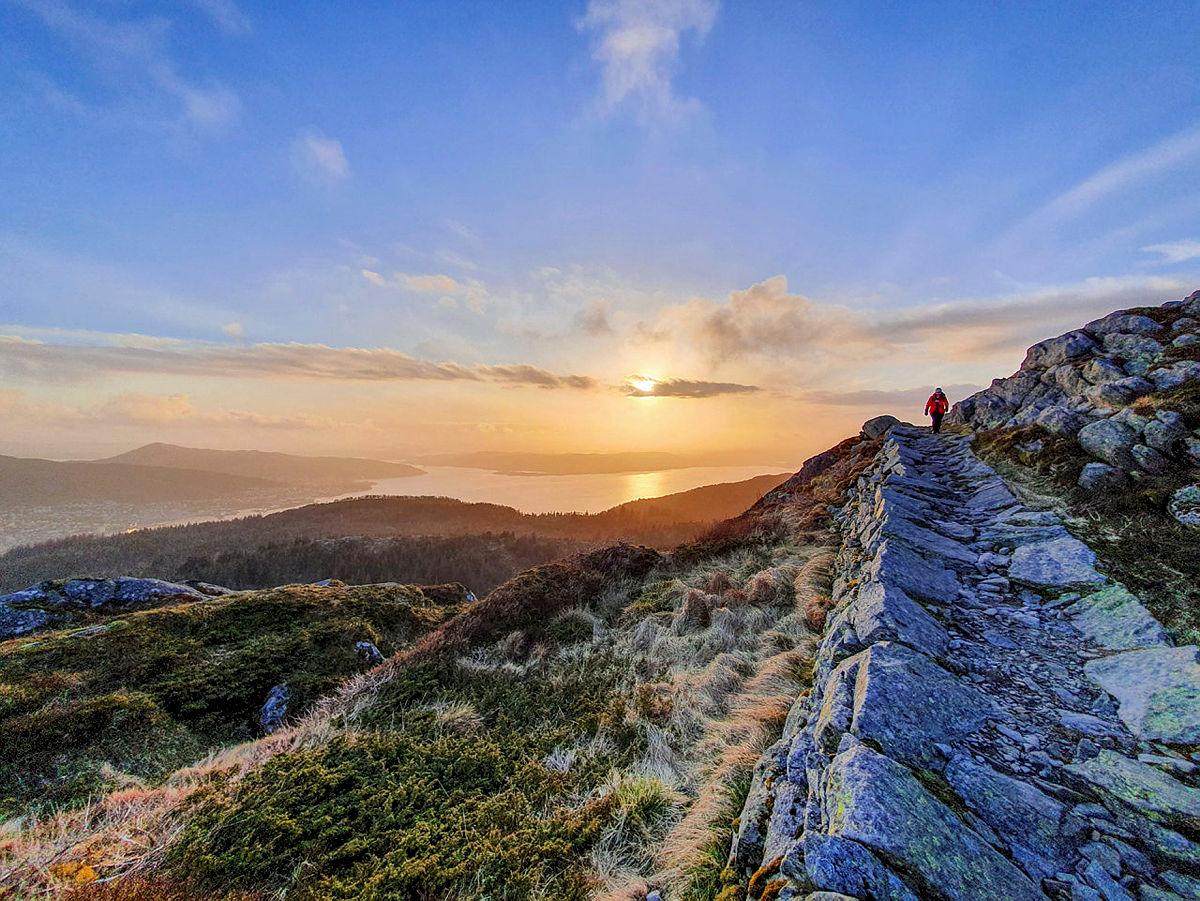Bergenstrimmen Sentrum sommer 2020 vinnerbilde fotokonkurranse