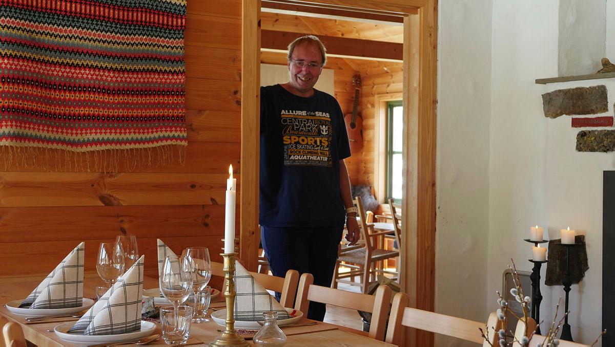 Husk Komletorsdag på Stranddalen. Bestyrer John Anton Nilsen ønsker velkommen.