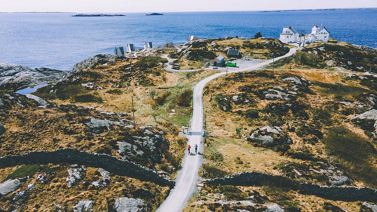 Sykkeltur til Flokehyttene og Ryvarden ved Haugesund.