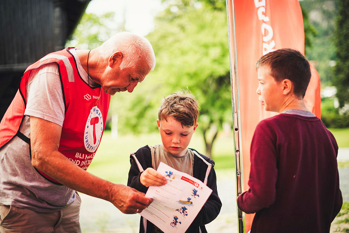 Notodden Turlag var med og arrangerte Barnas Aktivitetssommer 2021.