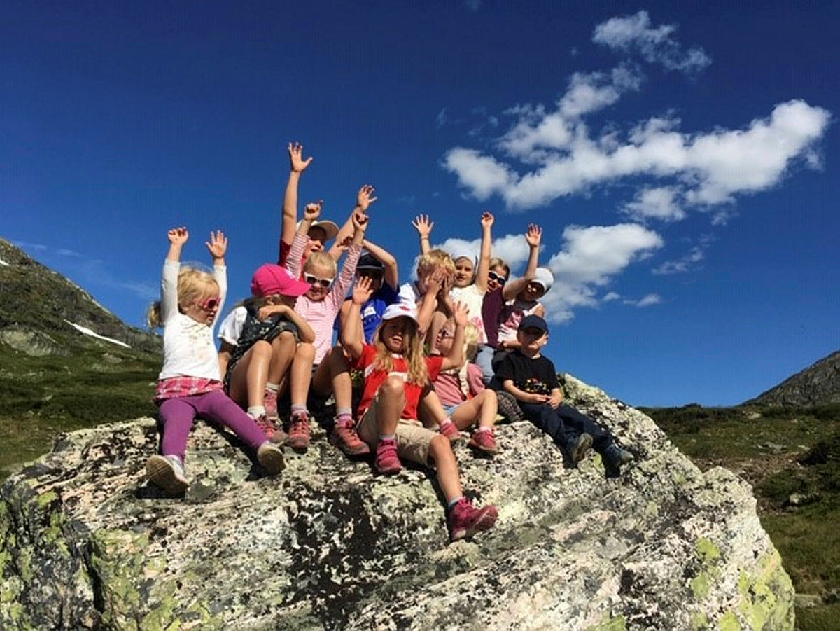 Ta med barna på fjellet i sommer