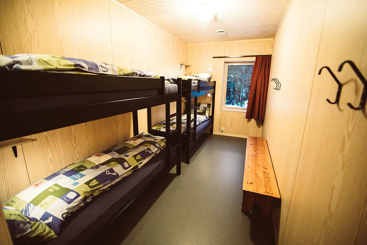 Hva med en natt i det nye sovehuset på Kobberhaughytta?
