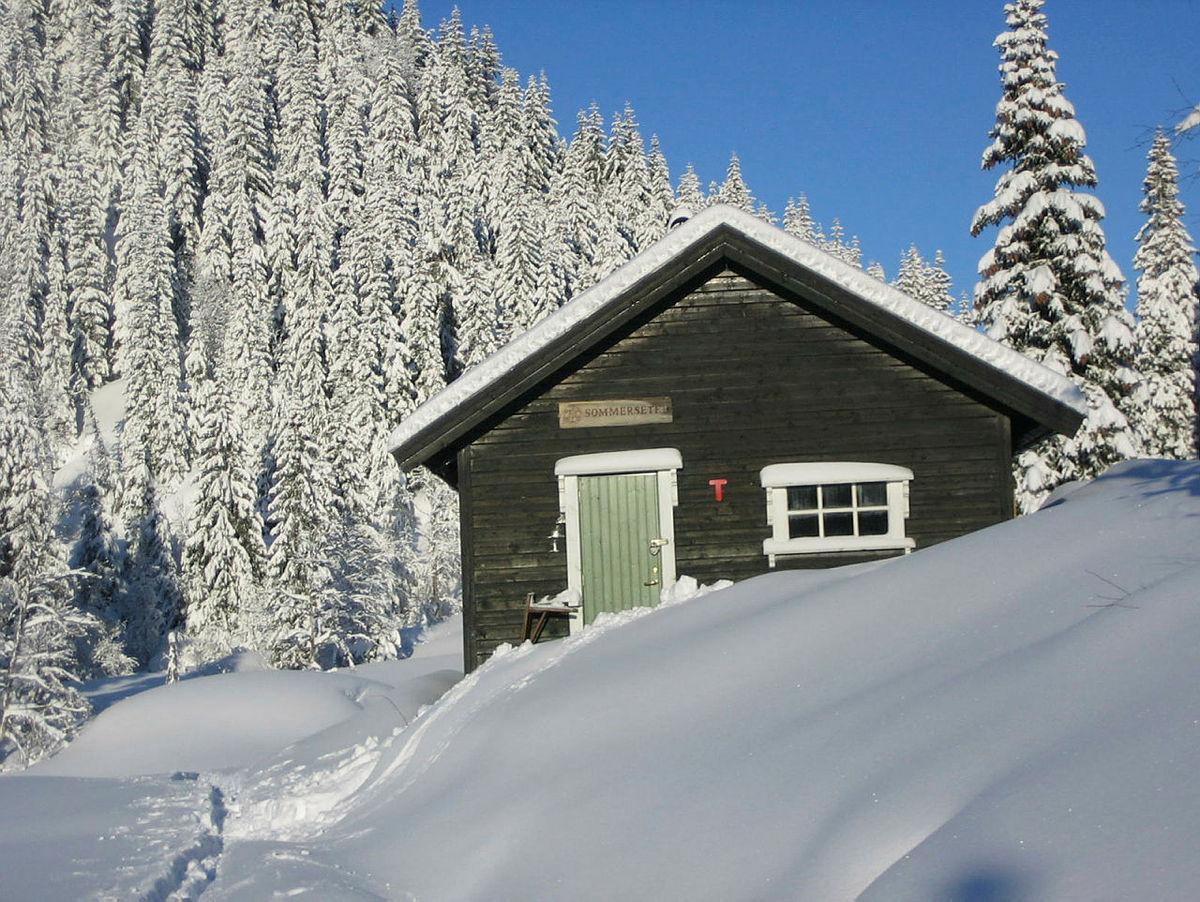 Hva med en hyttetur i januar?