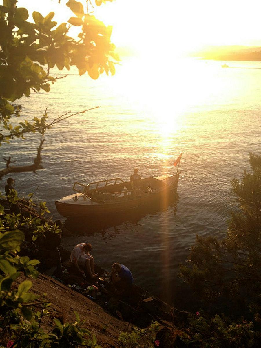 Fra båttur på Oslofjorden.