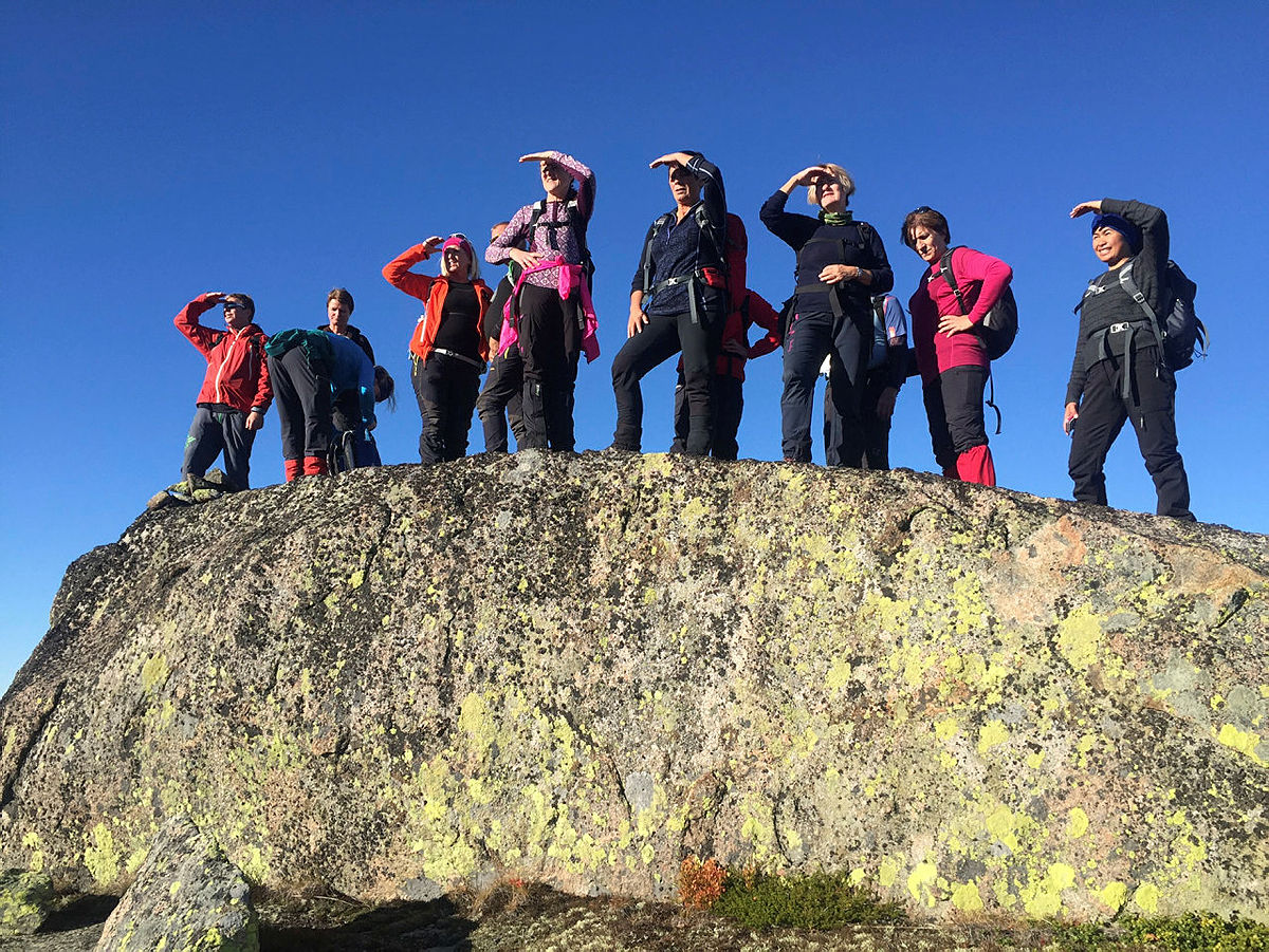 DNT fjellsport tur til Nare 2015