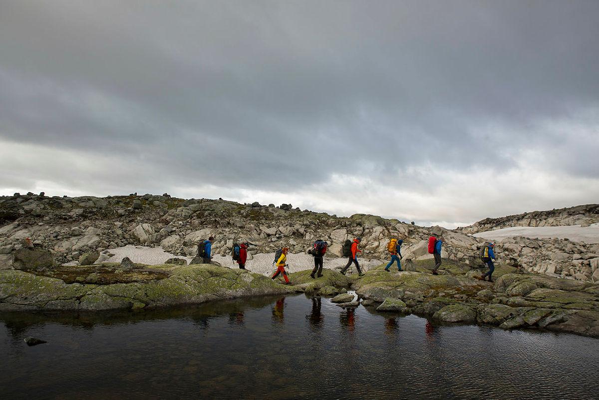 Turen fra Hallingskeid til Osa, en helt ny Historisk Vandrerute på vestlandet.