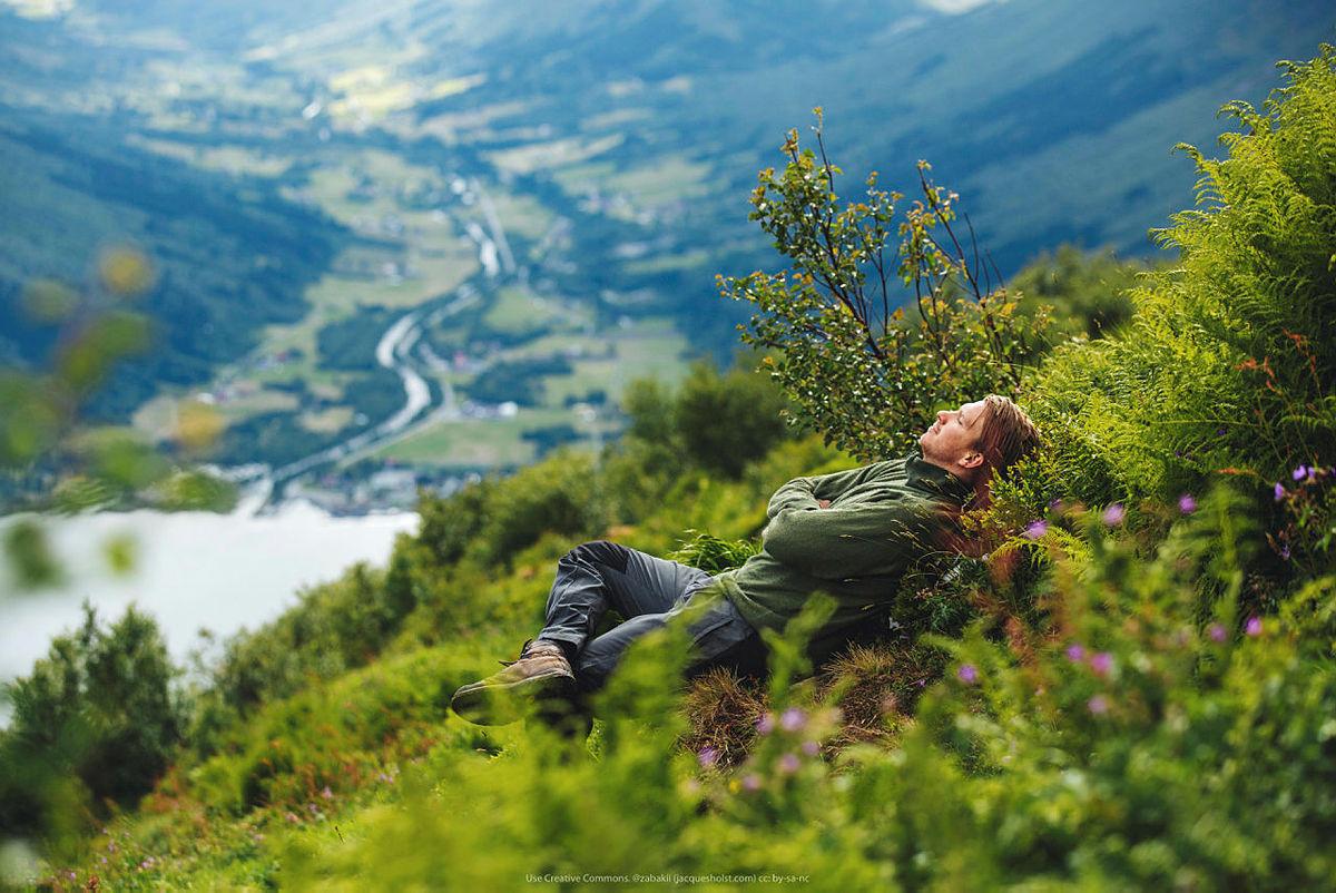 Nyt turen underveis, ta pauser, legg deg i gresset, la tankene vandre.