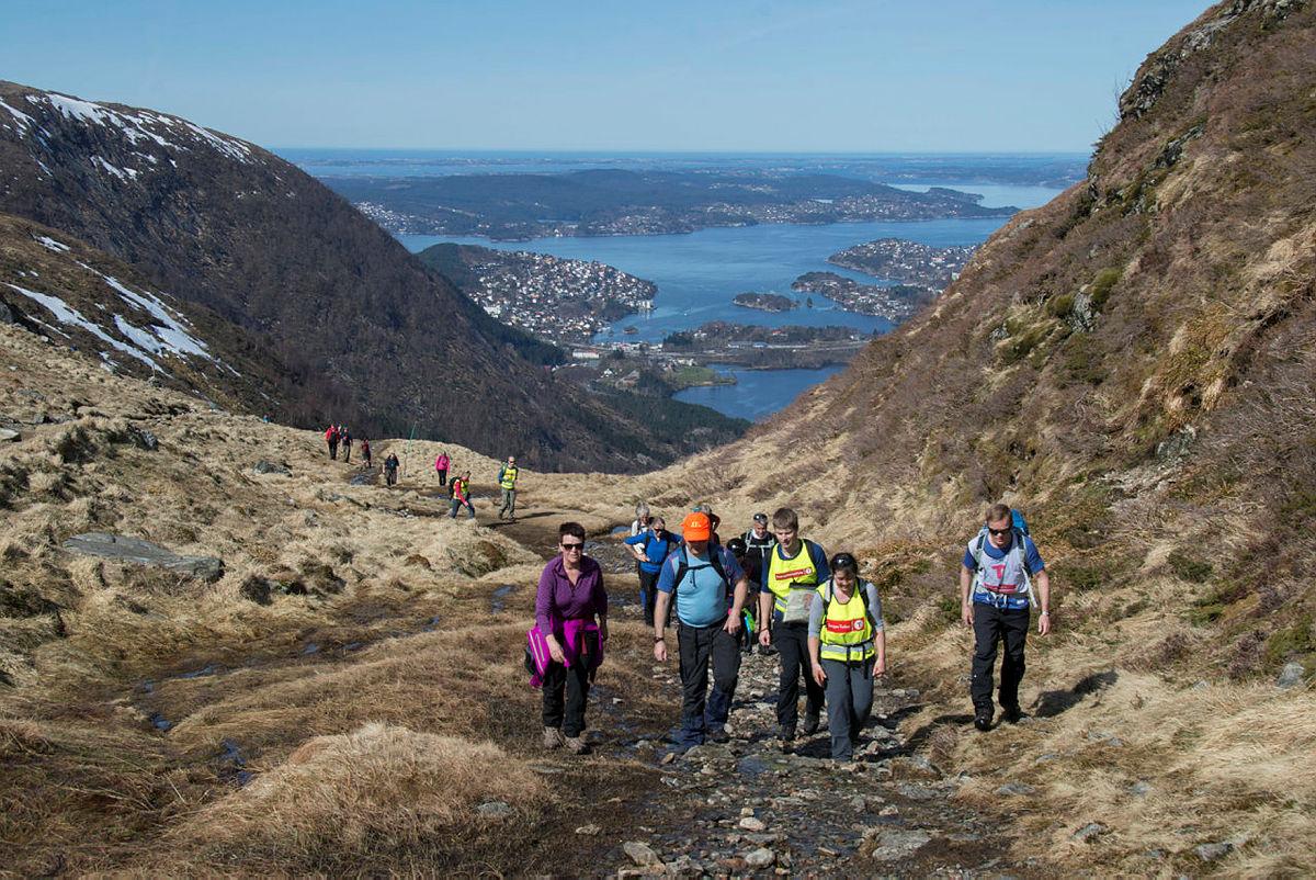 Jubileumstur i anledning 125-årsjubileet til Bergen og Hordaland Turlag 2015