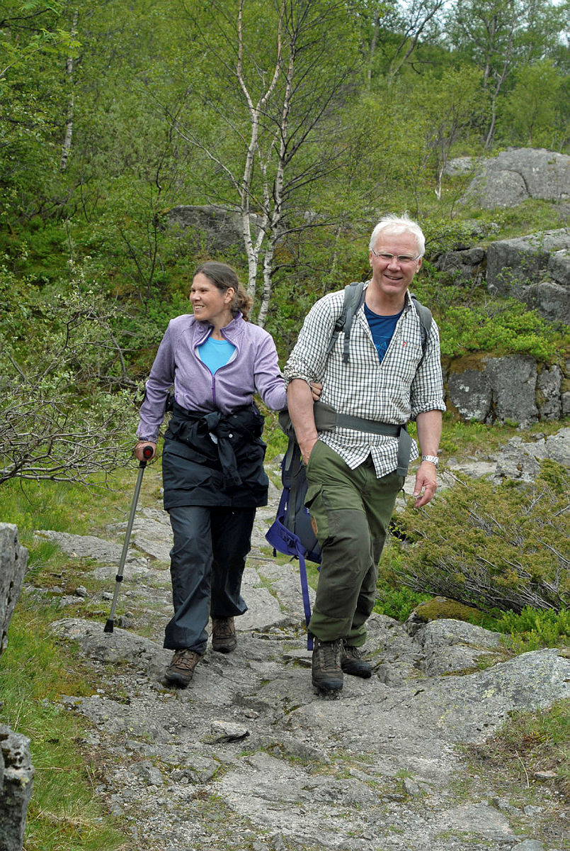Klart det går tur til Viglesdal juni 2015. Samarbeid med Blindeforbundet