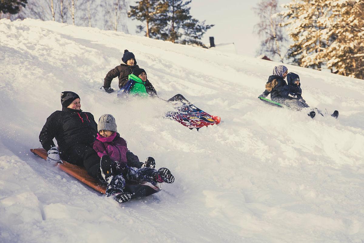 Dårlig med snø hjemme? Dra til fjells i vinterferien!