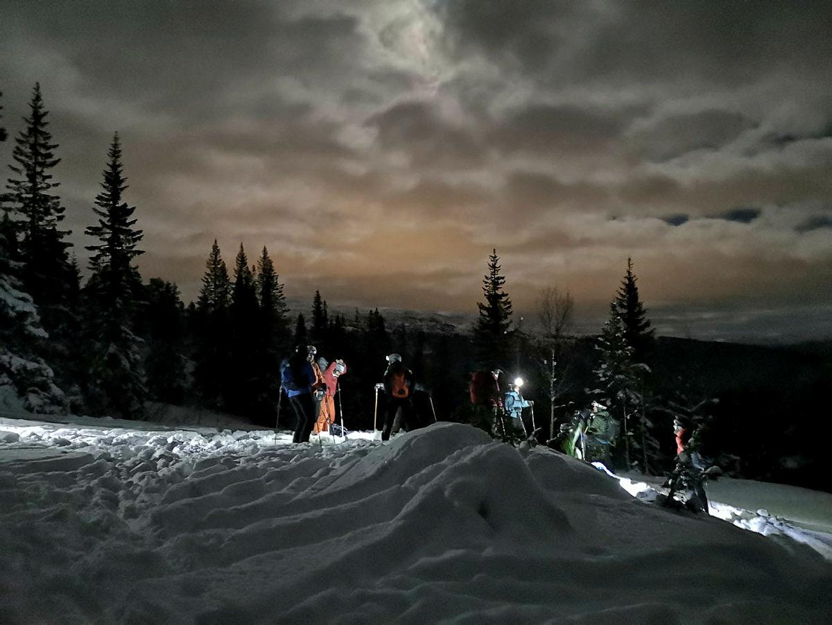 Fullmånetur I Dyrvedalen