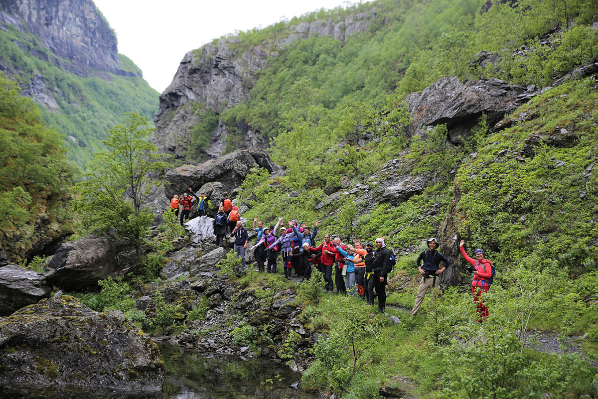 Aurlandsdalen med Til Topps Bergen 2019