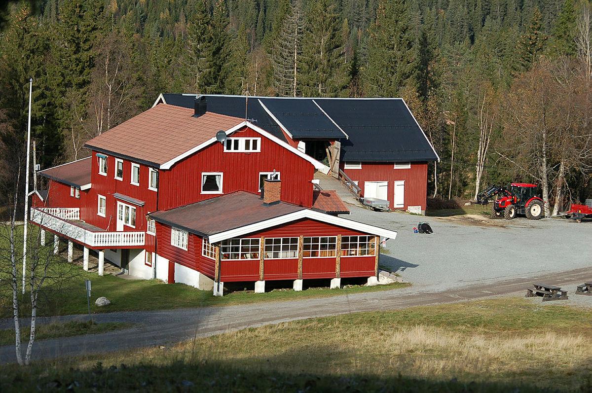 Eiksetra ved Garsjø i Lier kommune.