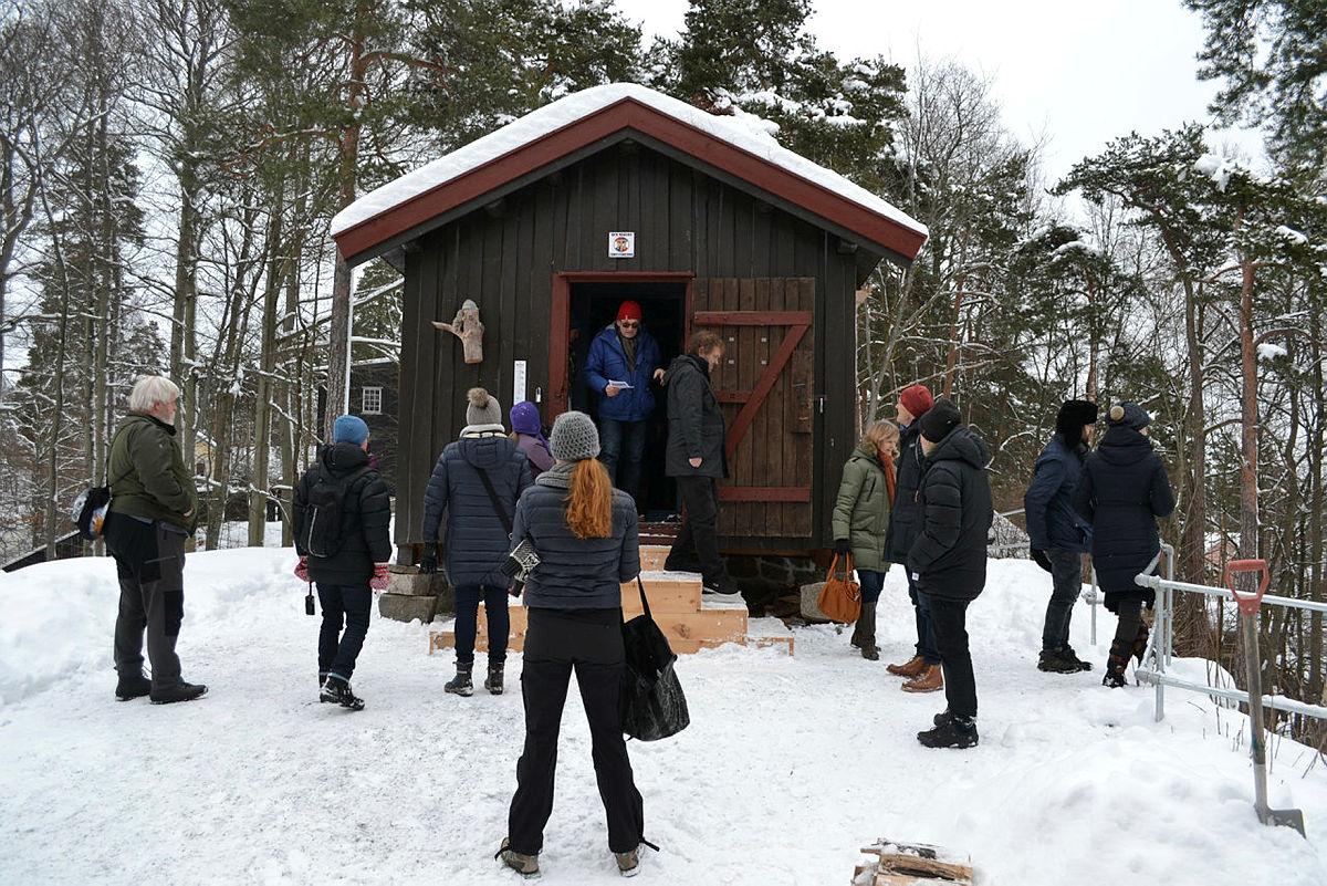Hovinkoia på Norsk Folkemuseum på Bygdøy.