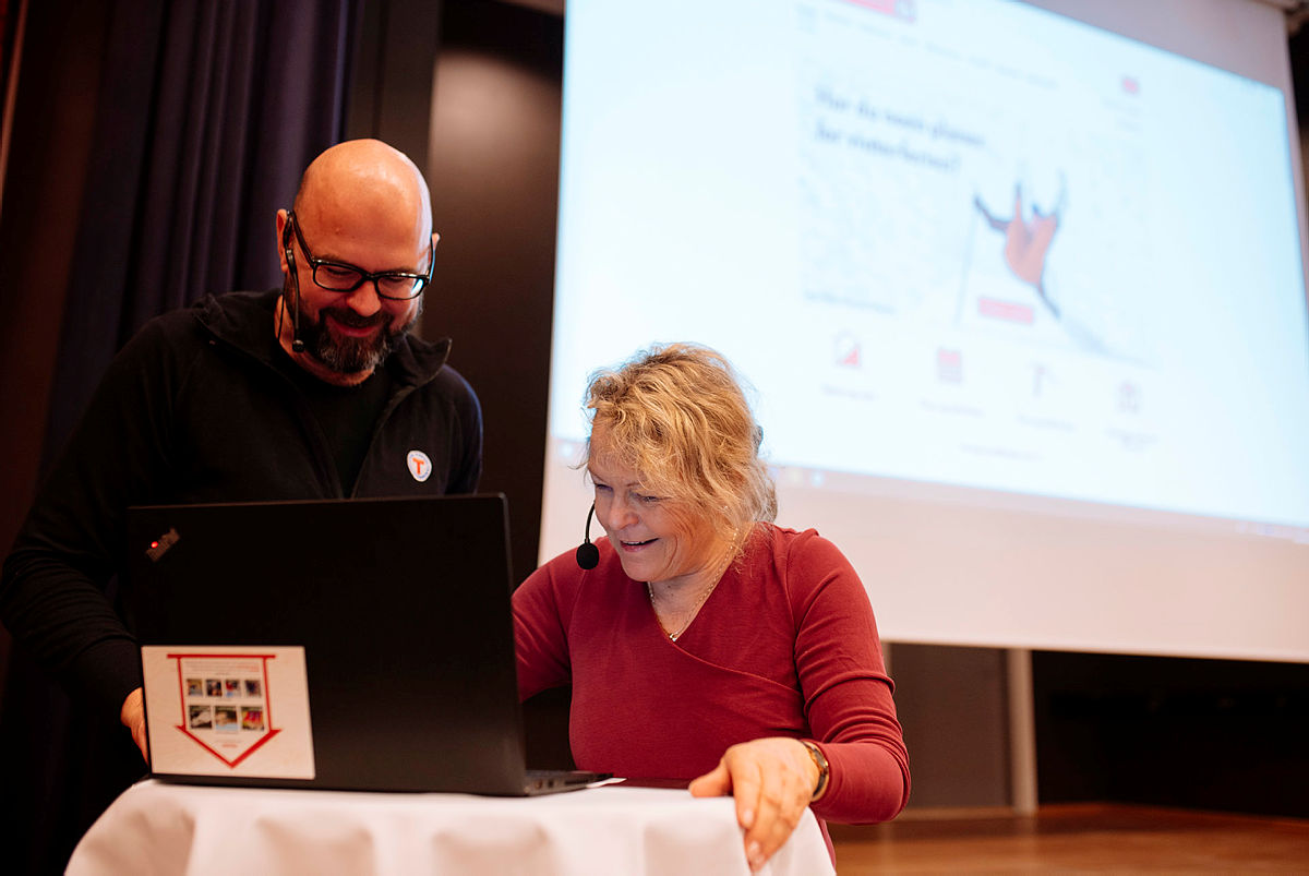 DNTs Vinterforum og lanseringen av nye UT.no .
