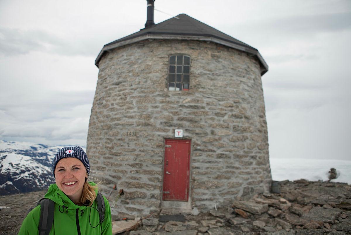 Turen til Skålatårnet i Sogn og Fjordane er blant rutene som kan stemmes fram.