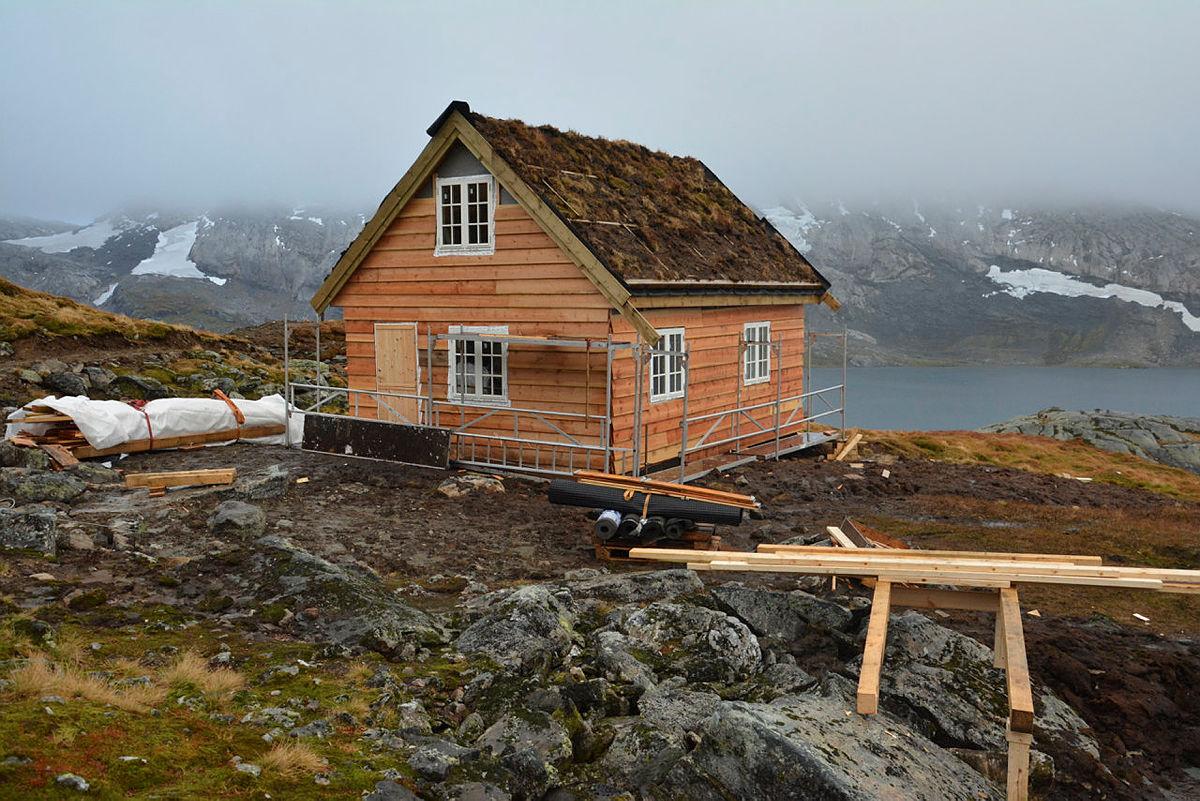 Nansenbu,  hytte ved Gråsida, Voss bygget i 2018. 10 senger ubetjent, helårs.