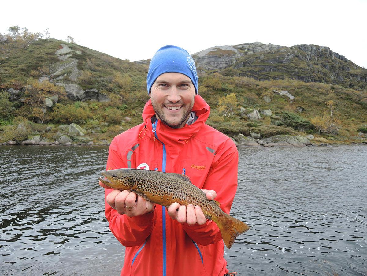 Fiskelykke er lykken av tid til å fiske!
