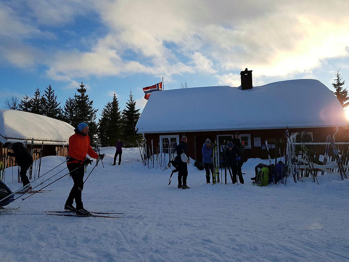Tidlig skiføre på Svanstul