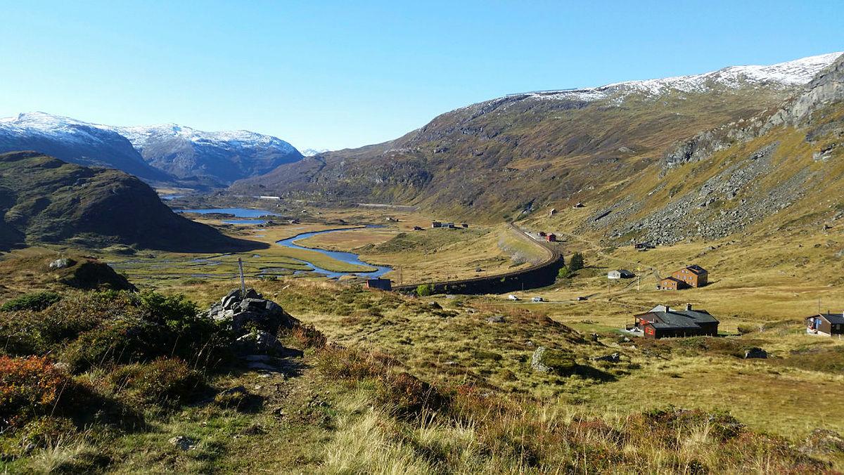 Bildet er tatt ved Upsete, hvor turen starter.