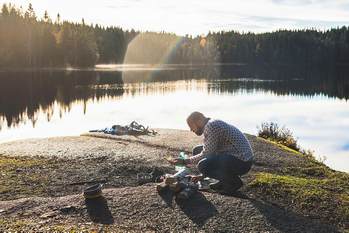 Innspilling av Utenriks i Oslomarka
