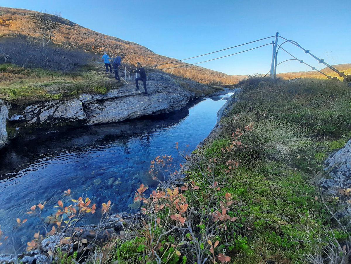 Tur til Torvedalshytta med hyttetilsynet og styret, 16.-17. oktober 2020.