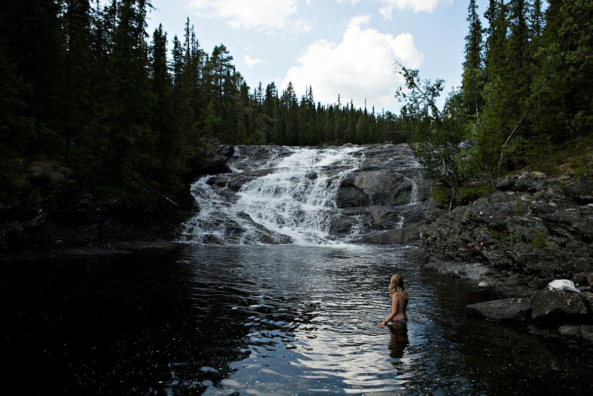 Den Norske Turistforening jubler for at man også i fremtidenkan oppleve åhøre elvebrusen fra elva Vinda.