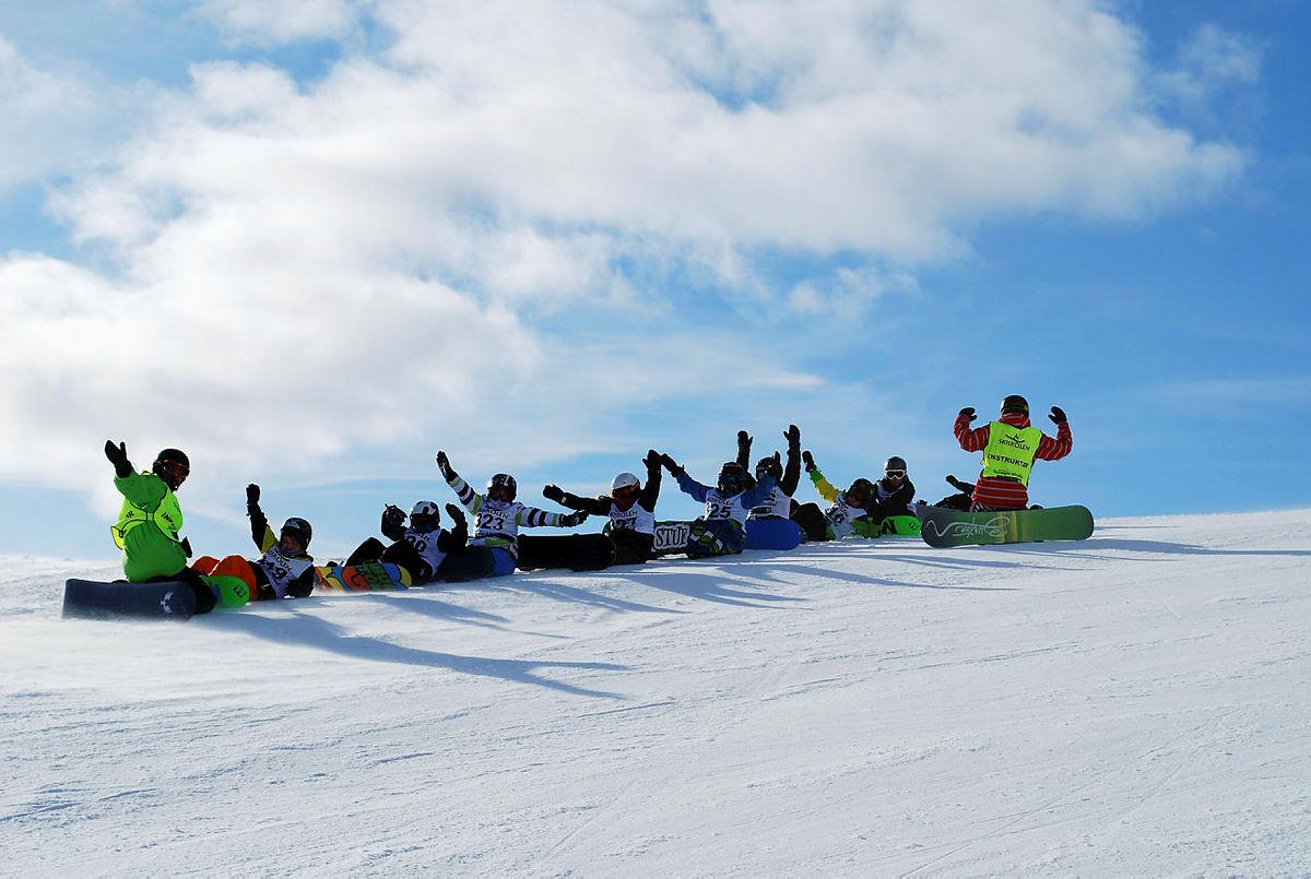 Skiskolen snowboard, alpint og langrenn