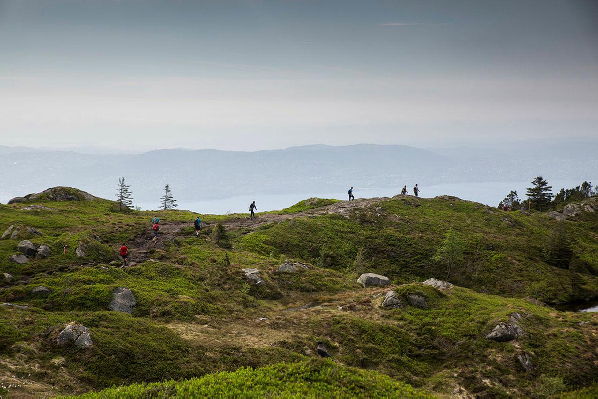 7-fjellsturen 2017, Sandviksfjellet.