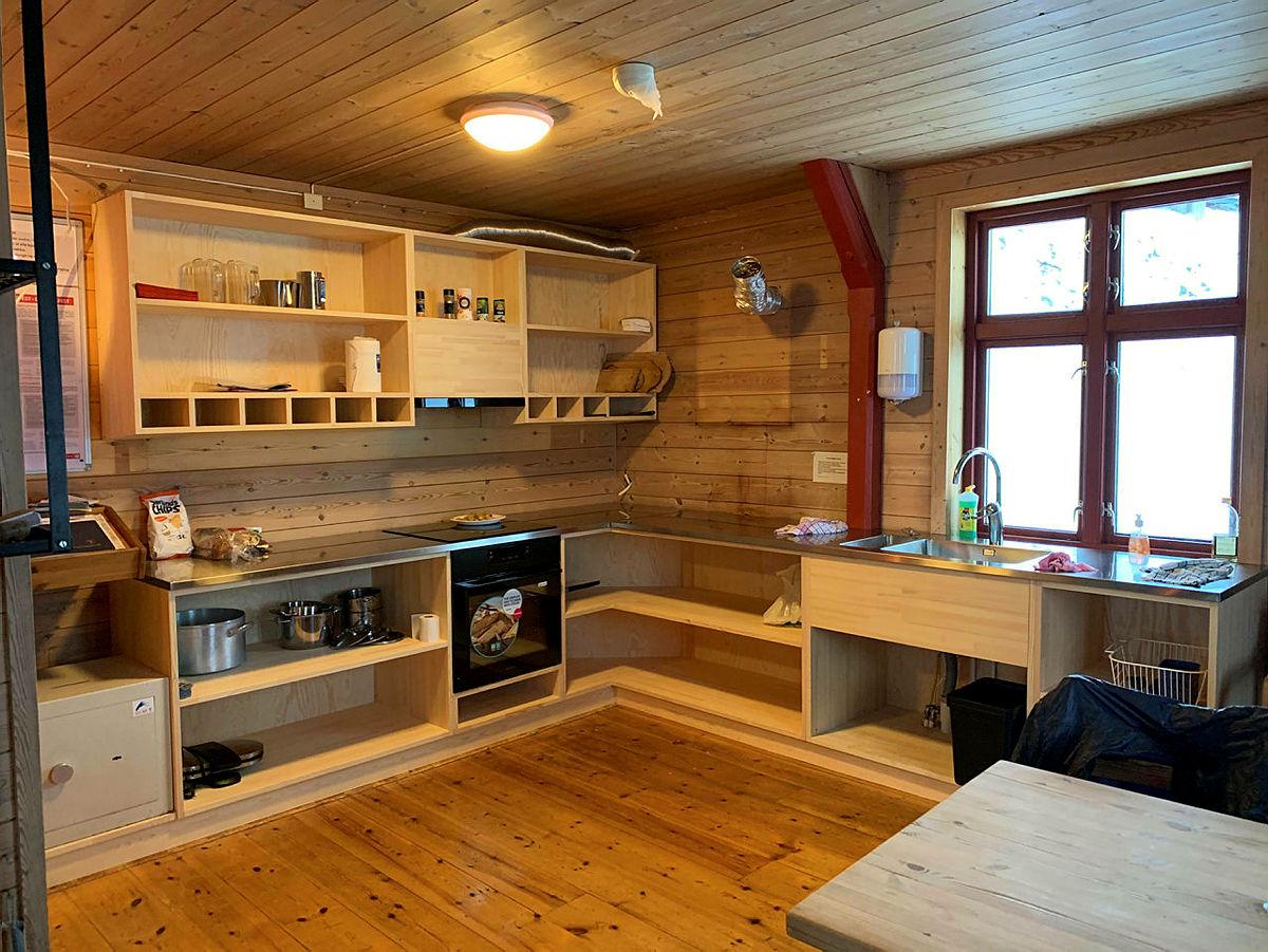 Nytt kjøkken på Lokalet.