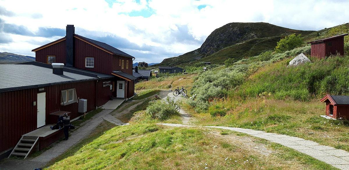 Turgavekort på Hardangervidda