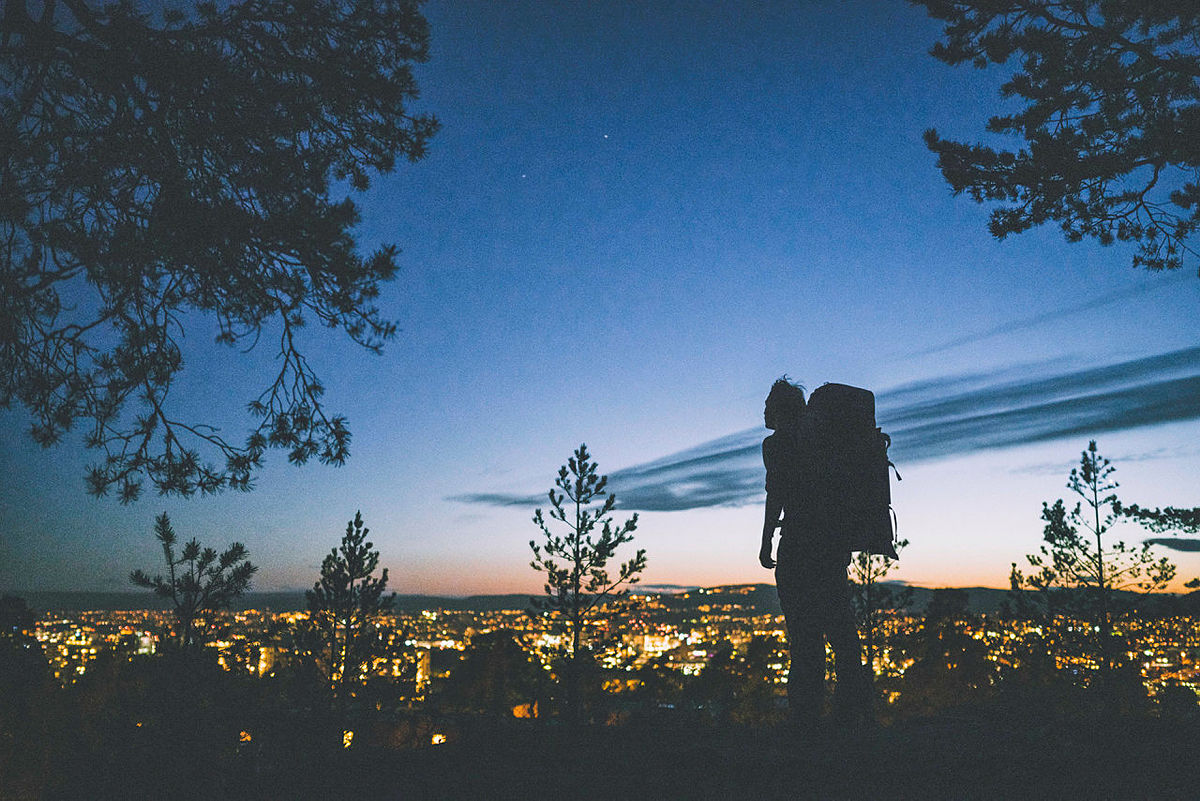 Kveldstur i Oslomarka