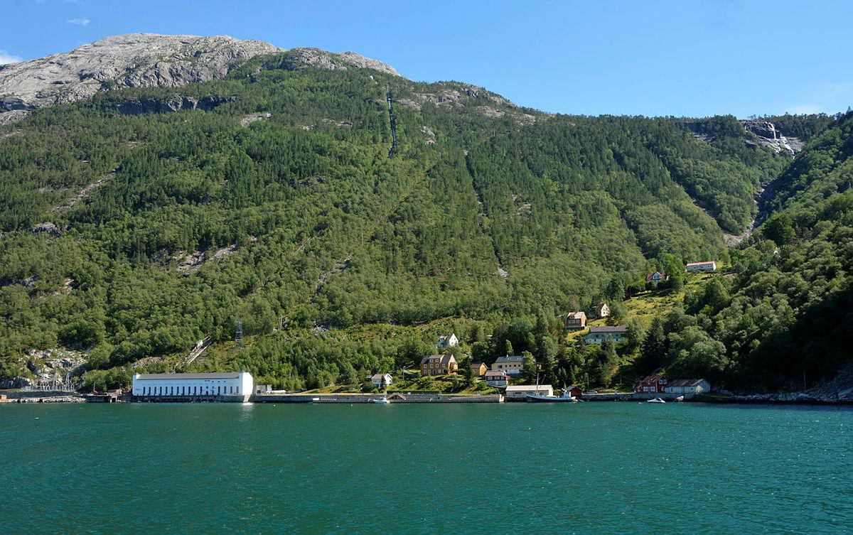 Flørli fra Lysefjorden
