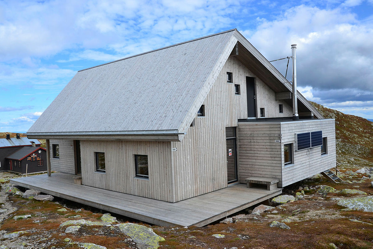 Nye Høgevarde turisthytte 8. september 2016
