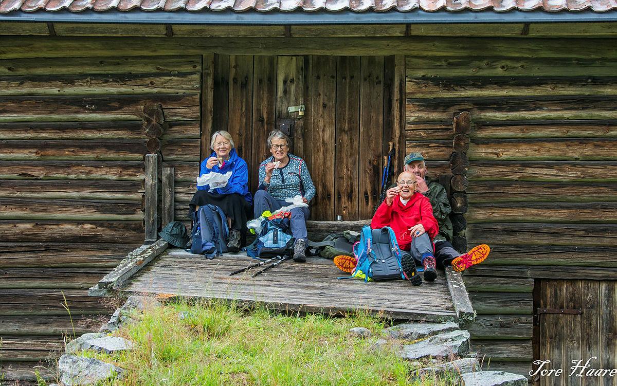 Turgruppa Ut på tur Eiker til Ospesetra