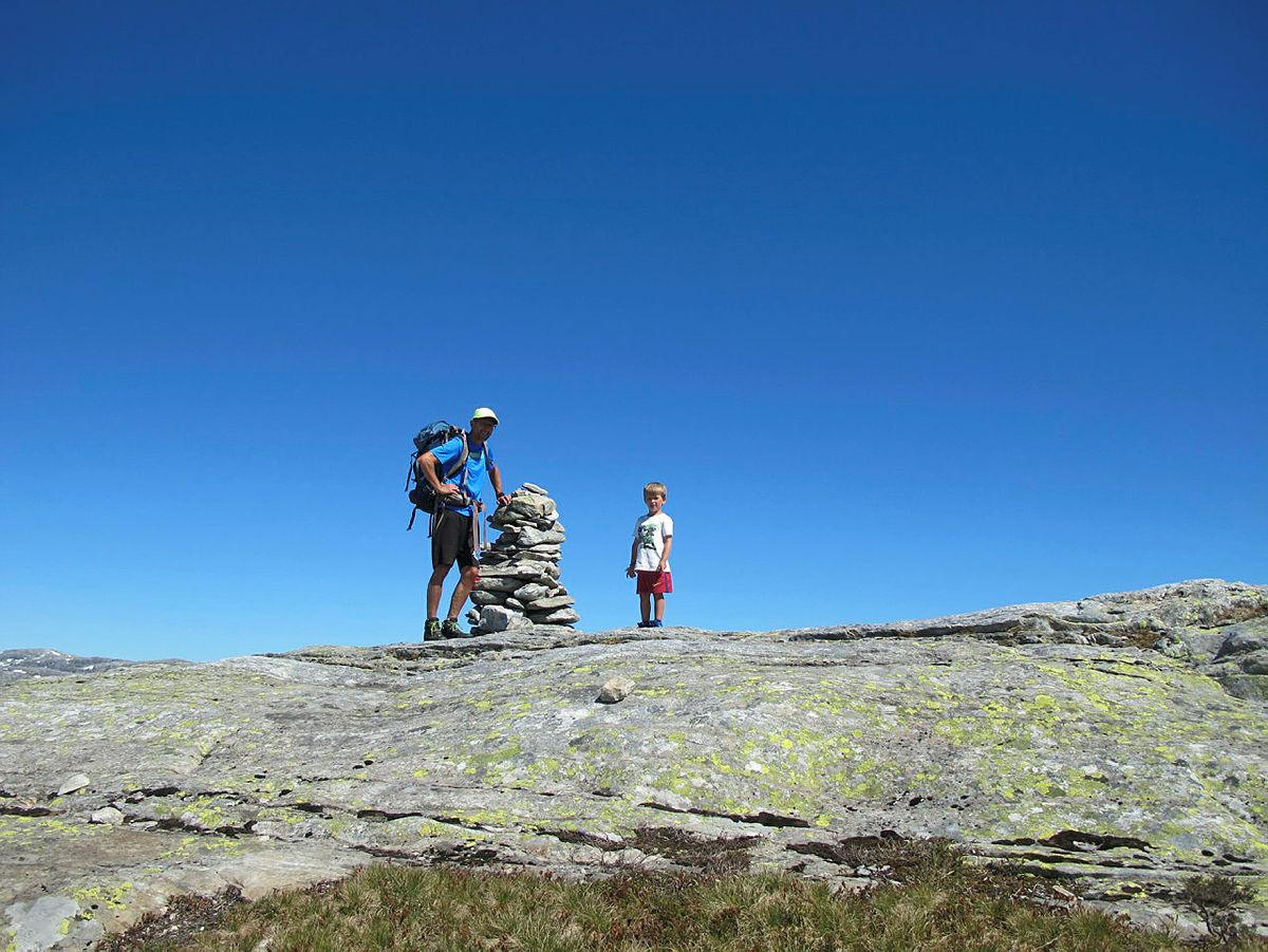 Svartevatnet til Høgabu turisthytte
