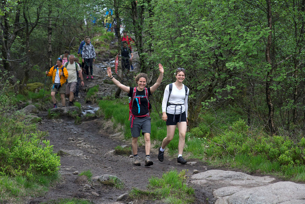 Grønt fokus på årets 7-fjellstur