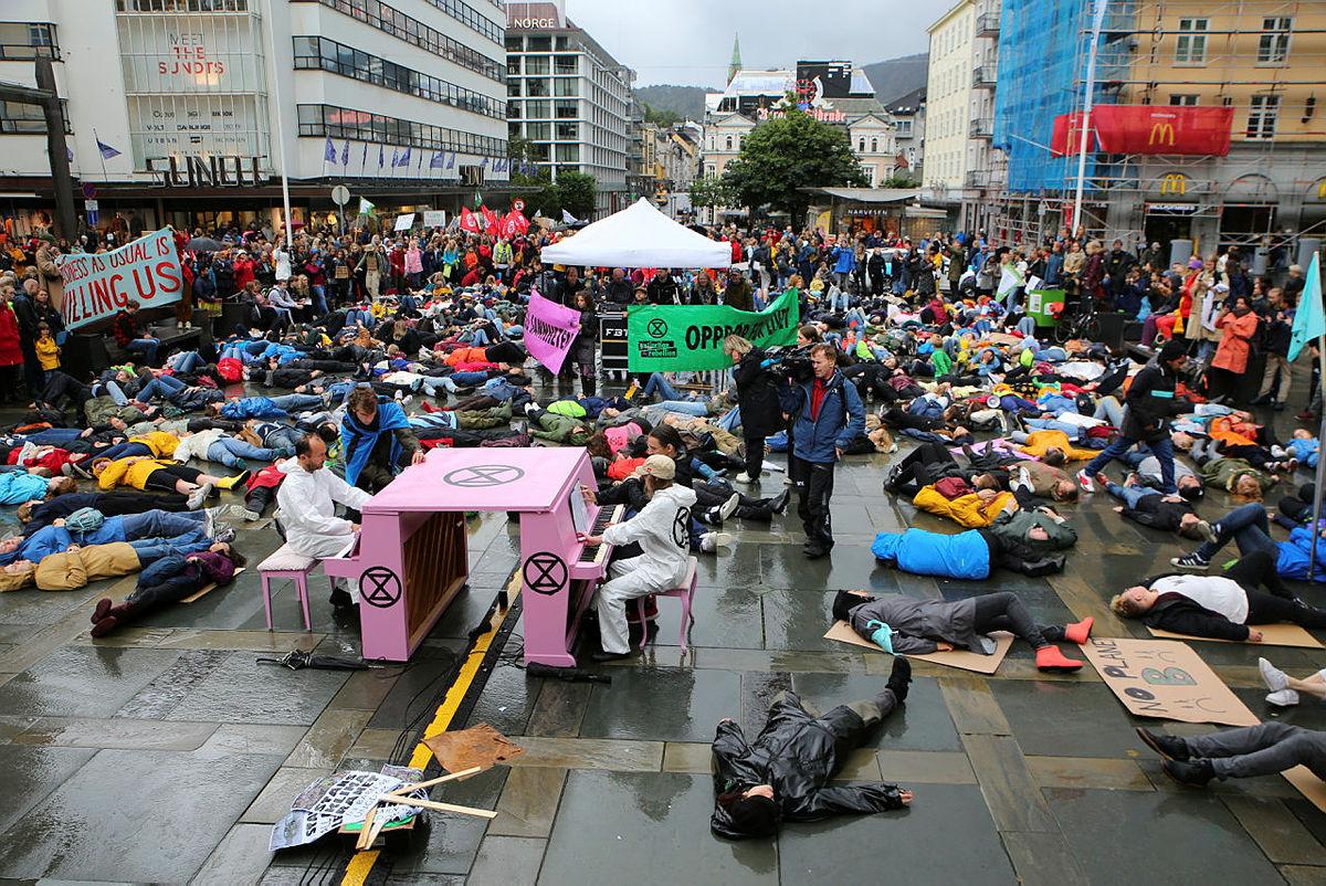 Klimabrølet, 30. august 2019, Bergen sentrum.