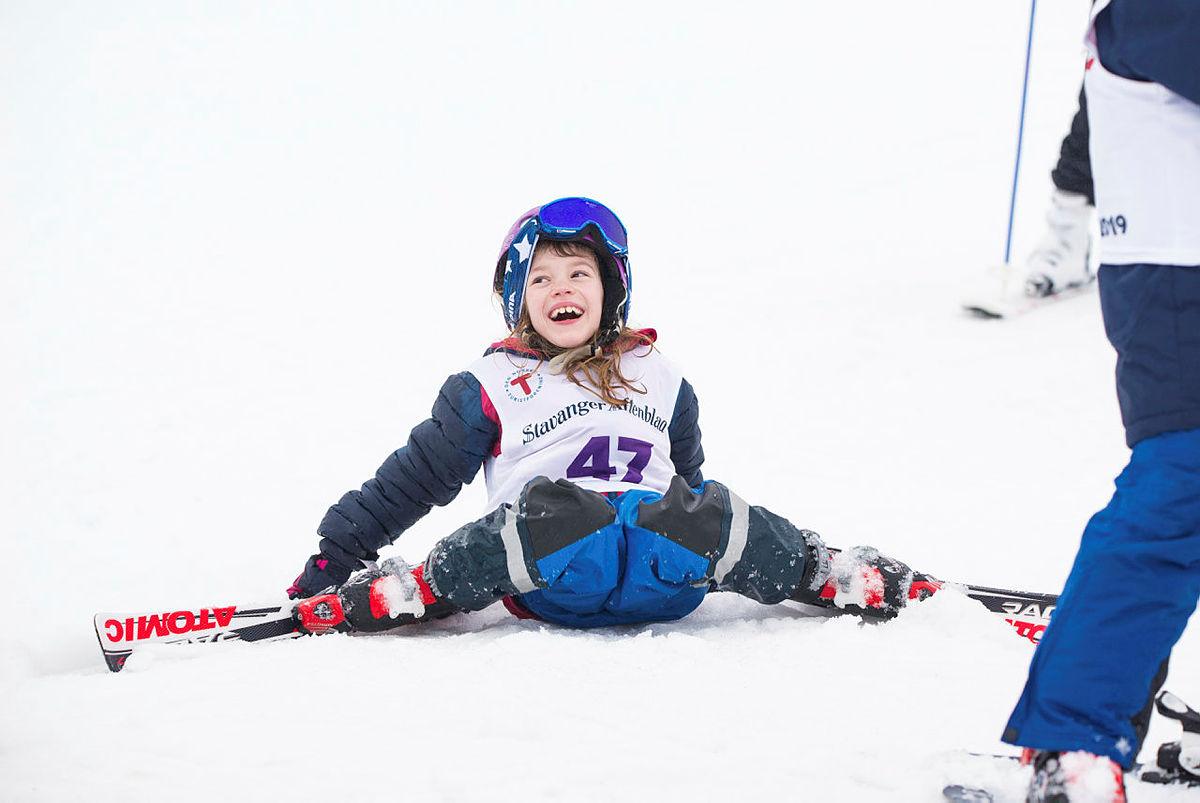 Ekte skiglede på Skiskolen 2019