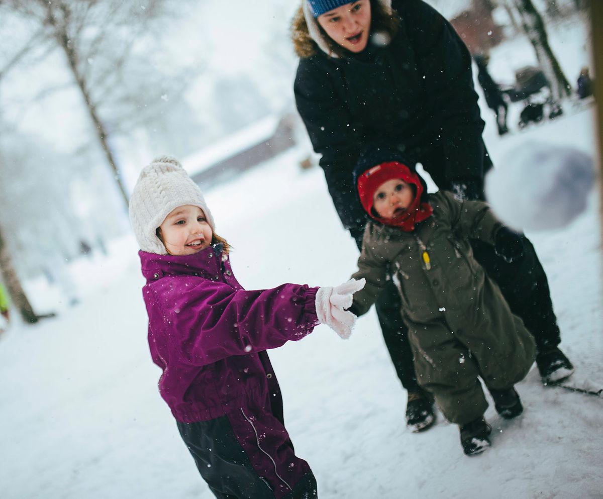 Bilder fra Kom deg ut-dagen/Markadagen på Sognsvann i februar 2017. Kaia Stephansen