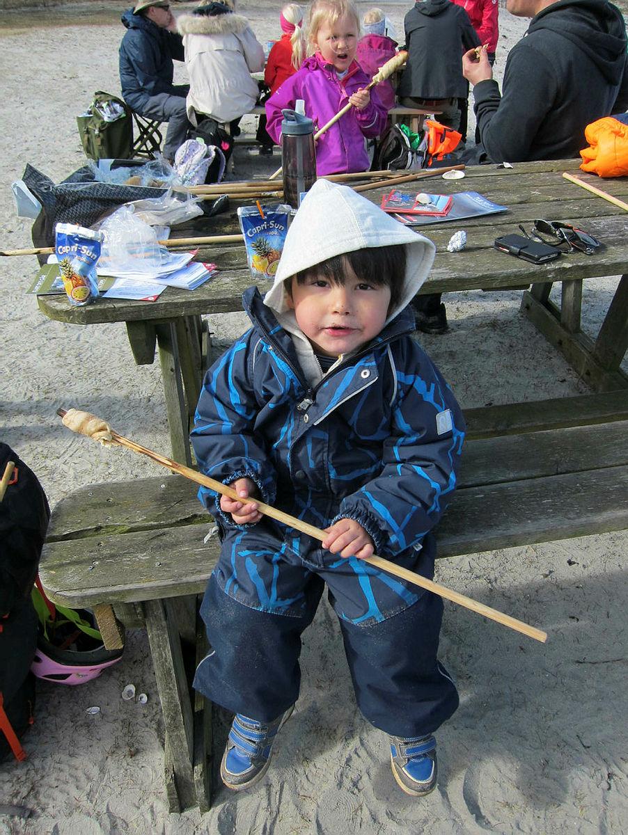 Turrapport: Barnas Turlag Bambles tur til Langøya
