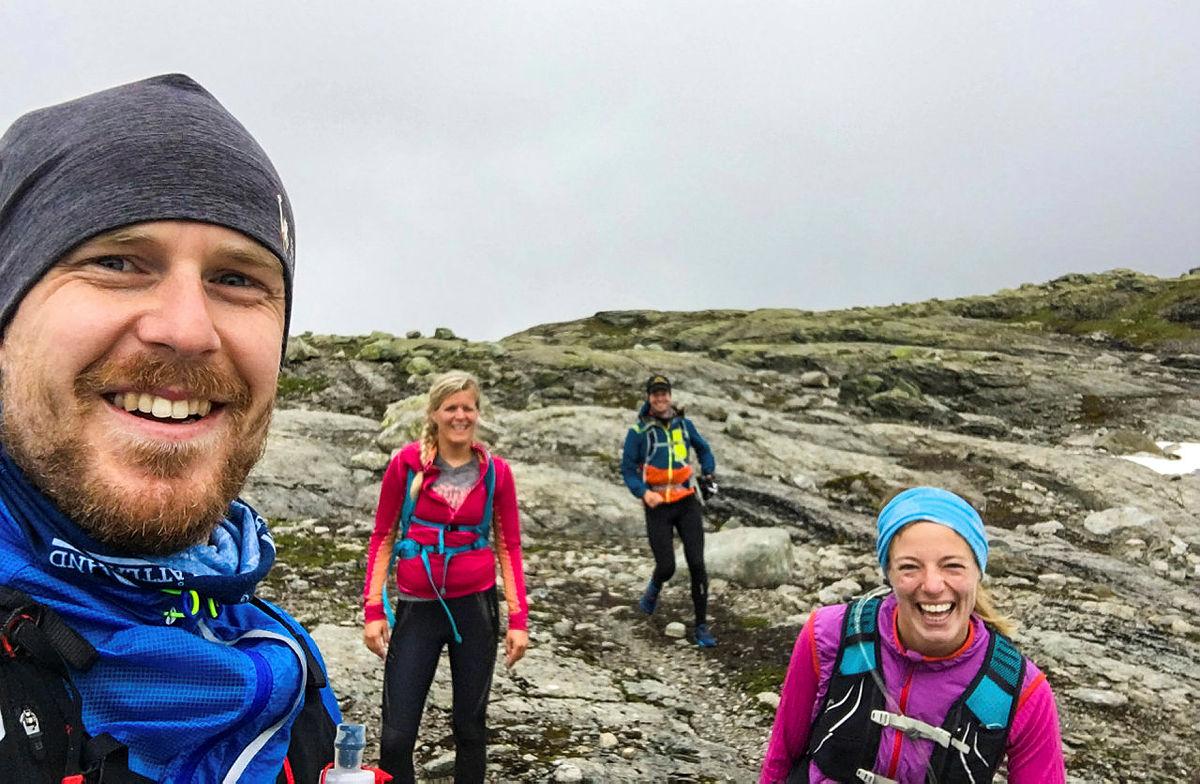 Stiløping er en utrolig morsom måte å bevege seg i terrenget på! Her fra en tidligere fjellsporttur.