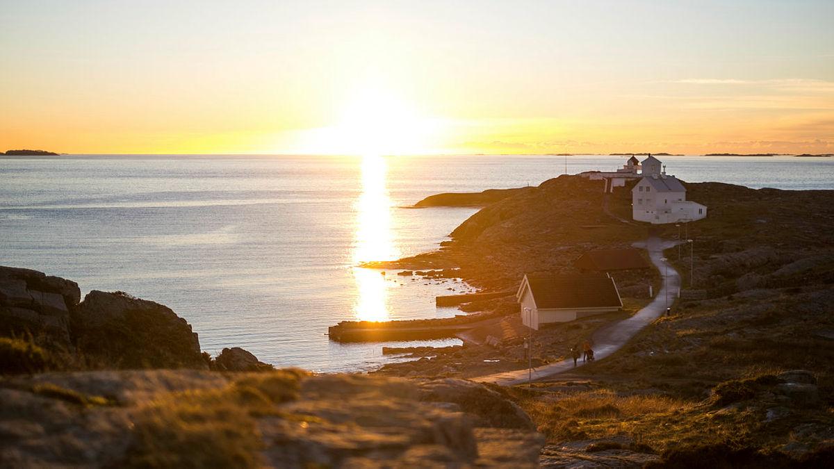 Fem flotte turer langs kysten