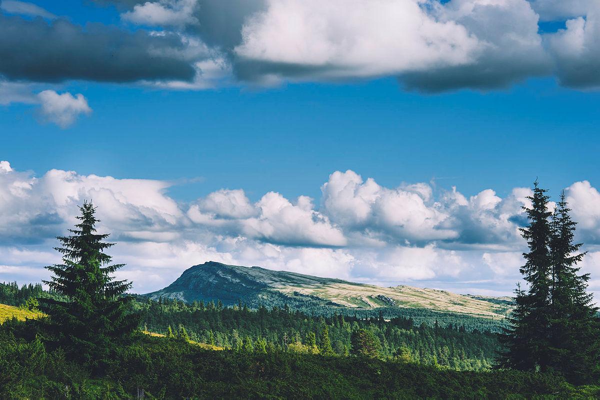 Utsikt fra Eldåbu