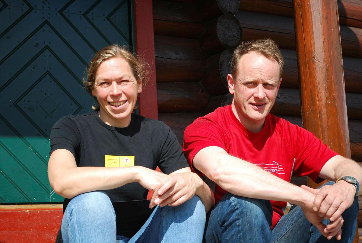 Beate og Svein ønsker velkommen i vinter