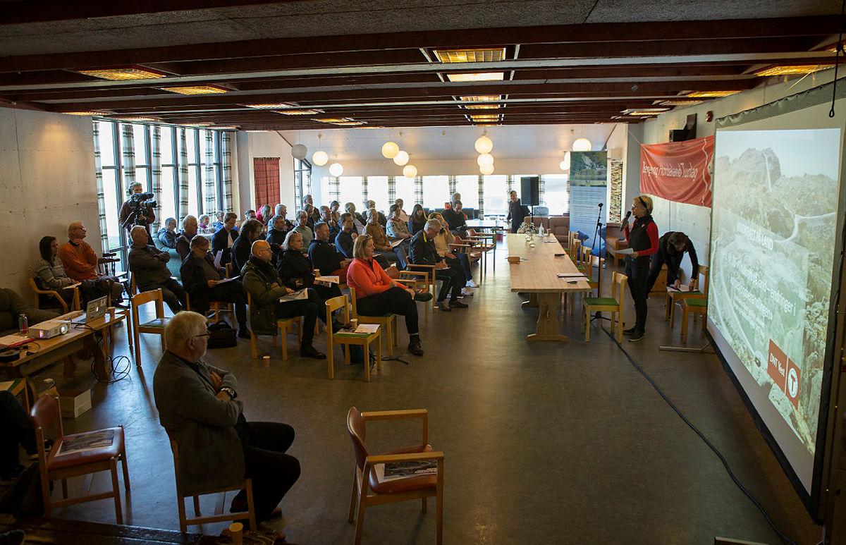 Vindkraftmøte i Dyrkolbotn, 26. august 2020.