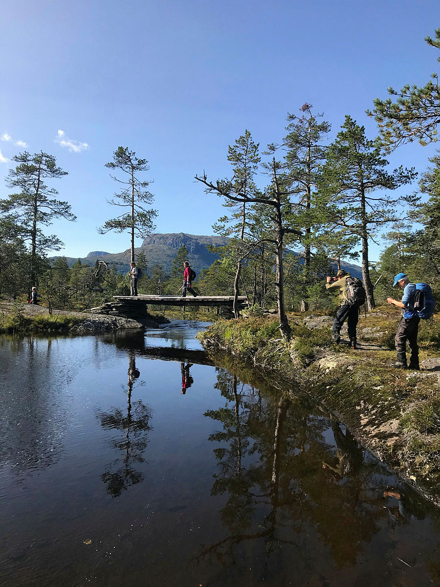 Hedler - Vatnaset i Granvin, onsdagstur 16.9.2020.