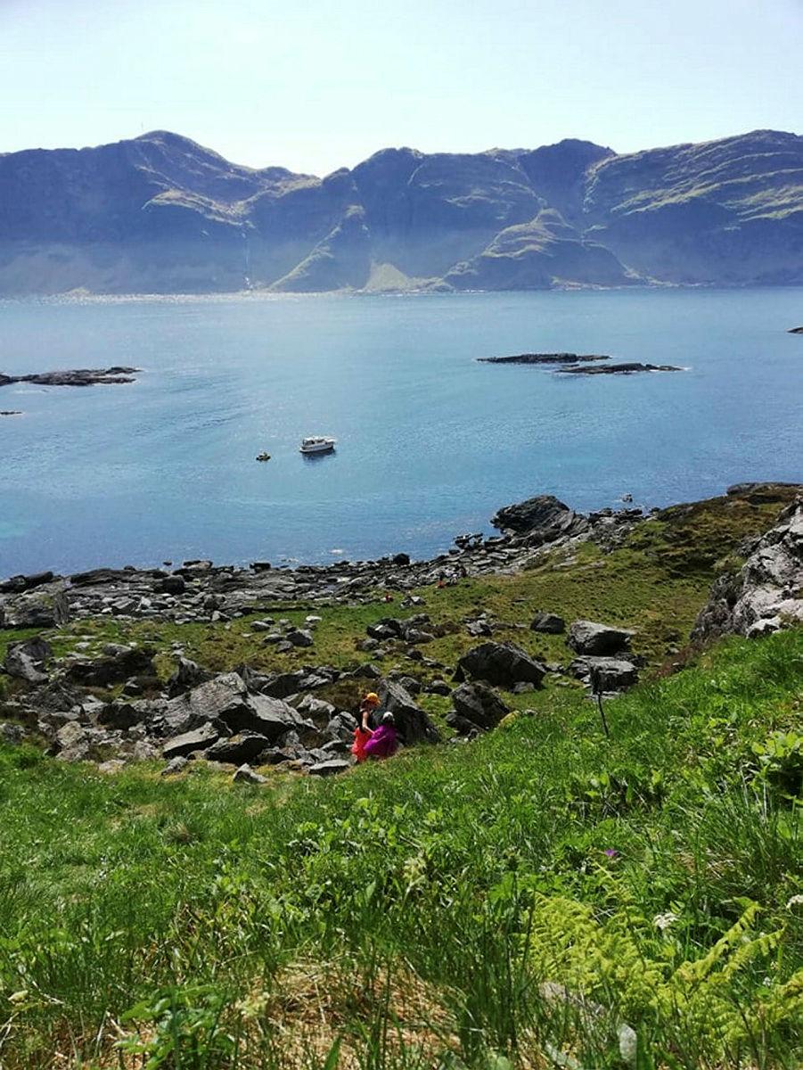 Utsikt fra Trollhola.
