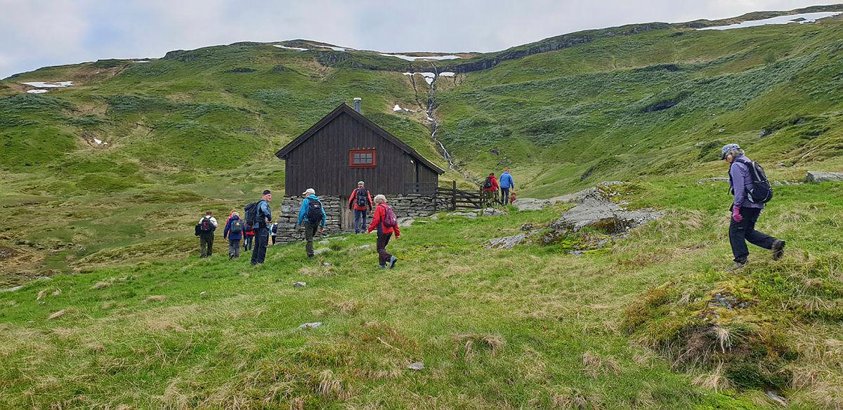 Kveldstur frå Fennastølane toø Steindro 15. juli 2020.
