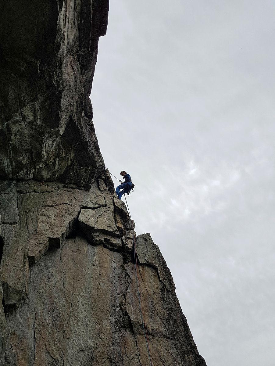 Fjellsportsamling 17.mai med DNT fjellsport Bergen i Lom